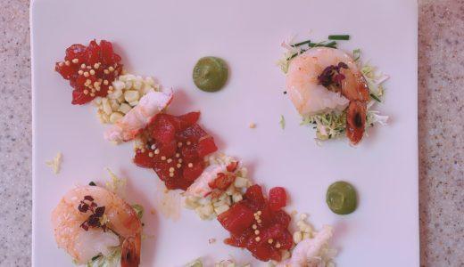 ロイヤルハワイアンのシーフードサラダを食べるミッション