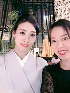 女優 鳳恵弥さんの20周年パーティーに参加してきました。